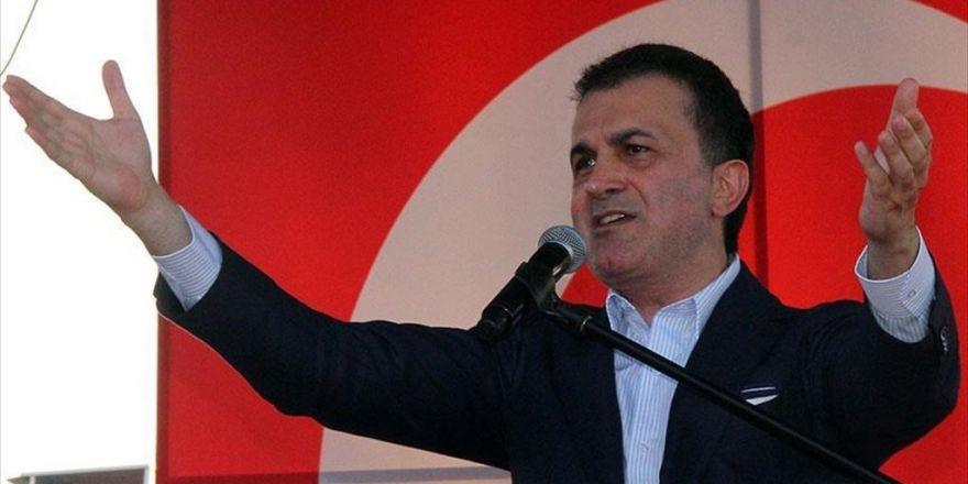 Ab Bakanı Ve Başmüzakereci Çelik: Vatandaşına Namlu Doğrultanın Adı Mehmetçik Değil Katildir