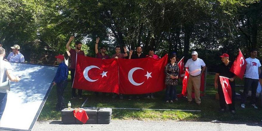 Pensilvanya'da Gülen Protestosu