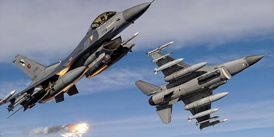 Siirt'te Düzenlenen Hava Harekatında 13 Terörist Etkisiz Hale Getirildi