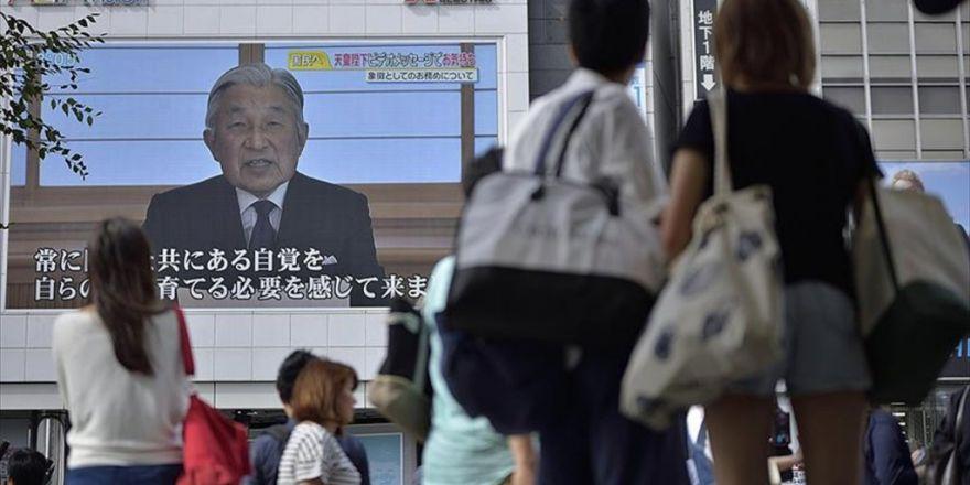 Japon İmparator Akihito, Tahtı Bırakmak İstediğini Açıkladı