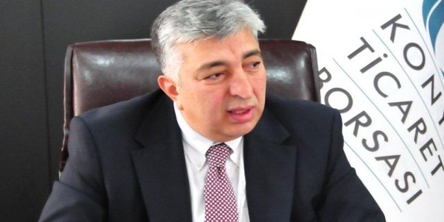 Çevik'ten İkinci İSO 500'teki Konyalı firmalara tebrik