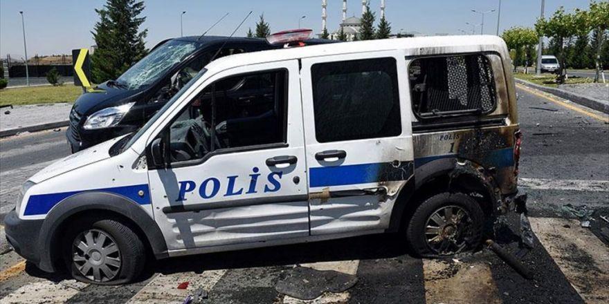Ankara'da Fetö'nün Darbe Girişiminde 55 Polis Aracı Ağır Hasar Aldı