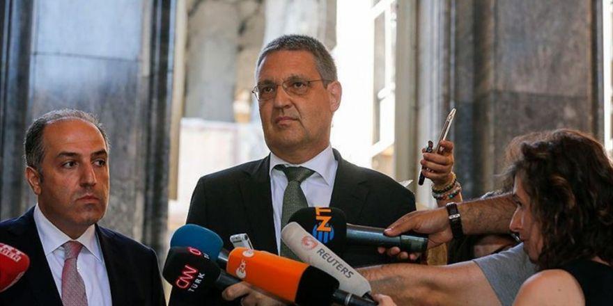 Almanya Dışişleri Bakanlığı Müsteşarı Ederer Meclis'te