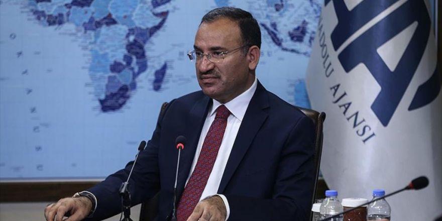 Adalet Bakanı Bozdağ Aa Editör Masası'na Konuk Oldu