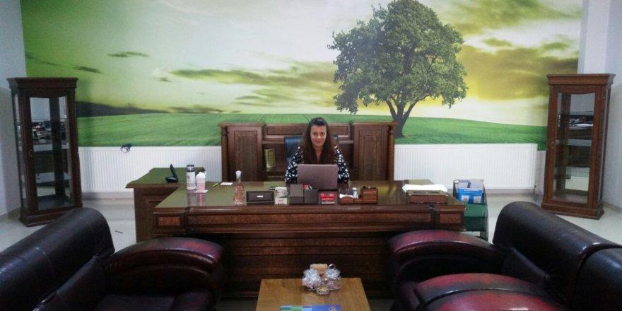 Başarılı çevre mühendisi Pelin Karapınar Hanım görev başında