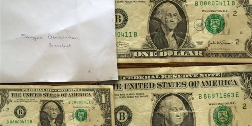 1 Dolarların Dağıtım Şifresi: 'Suyun Ötesinden Bereket'