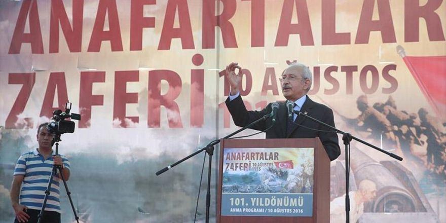 Chp Genel Başkanı Kılıçdaroğlu: Cumhuriyet Tarihinin En Kanlı Darbe Girişimiydi