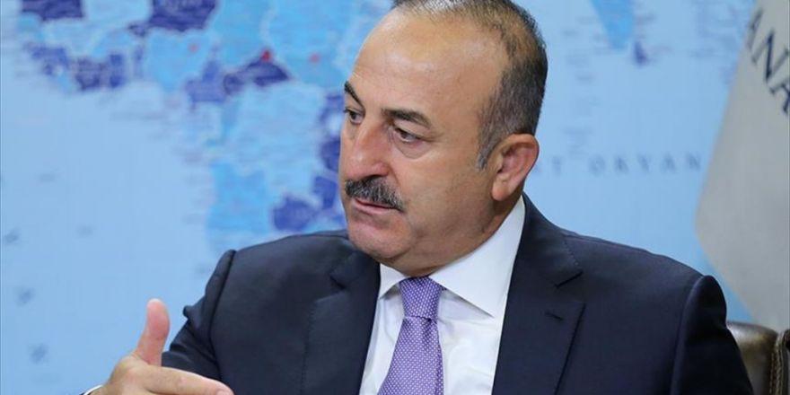Dışişleri Bakanı Çavuşoğlu: Rusya İle Suriye Konusunda Üçlü Mekanizma Kuruyoruz