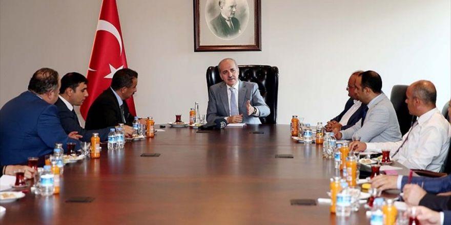 Başbakan Yardımcısı Kurtulmuş, Ayd Yönetimini Kabul Etti