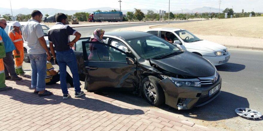Konya Aksaray yolunda kaza