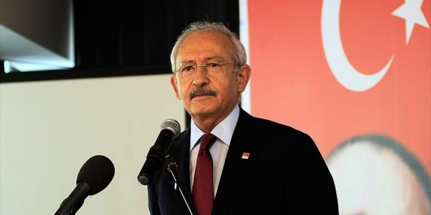 Chp Genel Başkanı Kılıçdaroğlu: Yazarlar Ve Sanatçılar Türkiye'nin Geleceğinin Güvencesi