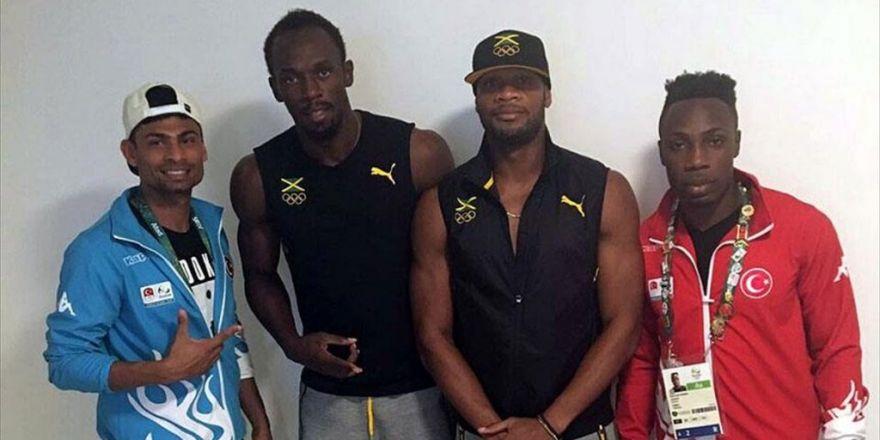 Bolt Ve Powell Milli Atletlere Şans Diledi