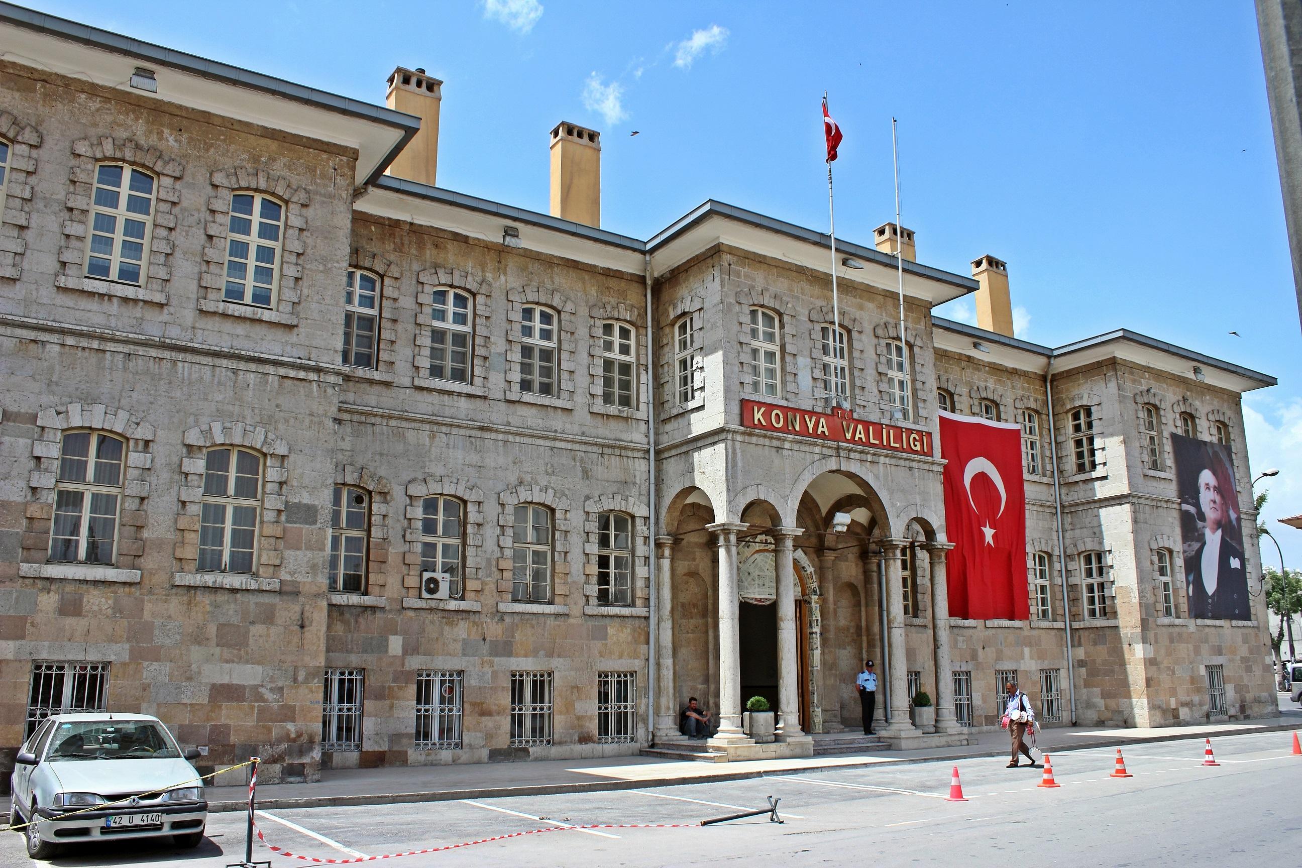 Konya'da gösteri ve yürüyüş yapılacak yerler