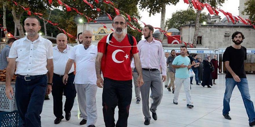 İbrahim Çolak Darbe Girişimini Protesto İçin Ankara'ya Doğru Yola Çıktı