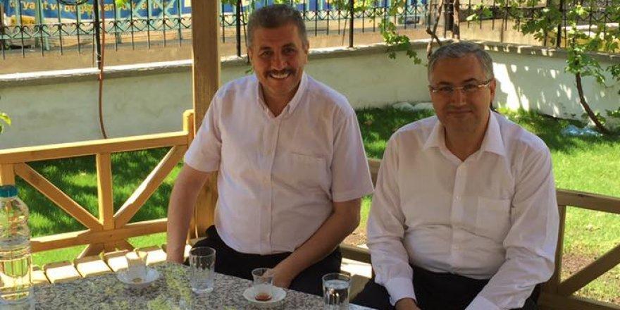 Başkan Özselek'ten İsmail Turan'a hayırlı olsun ziyareti