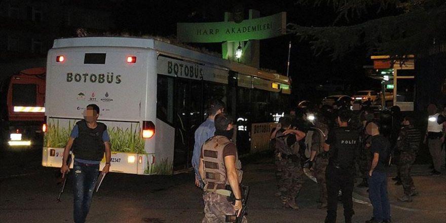 Pöh'ler Ankara'ya Otobüs Ve Servislerle Nakledilmiş