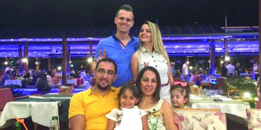 Uğur ve Fulya Seyhan çiftinin muhteşem evlilik yıldönümü