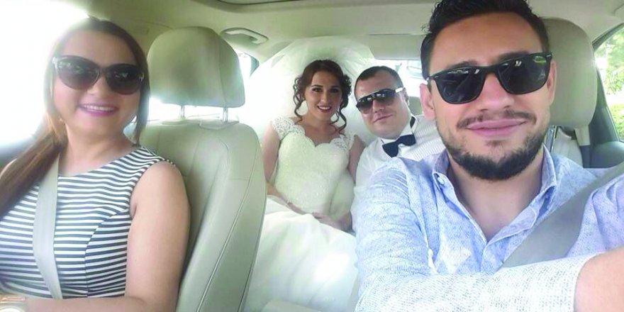 Hukuk dünyasının iki güzel insanı evlendi