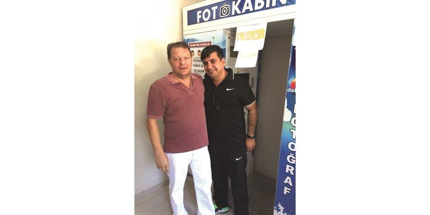 Süleyman Akkuş Mehmet Ekici ile birlikte