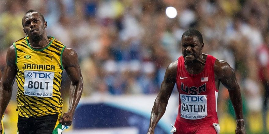 100 Metrede Bolt Ve Gatlin Yarı Finalde