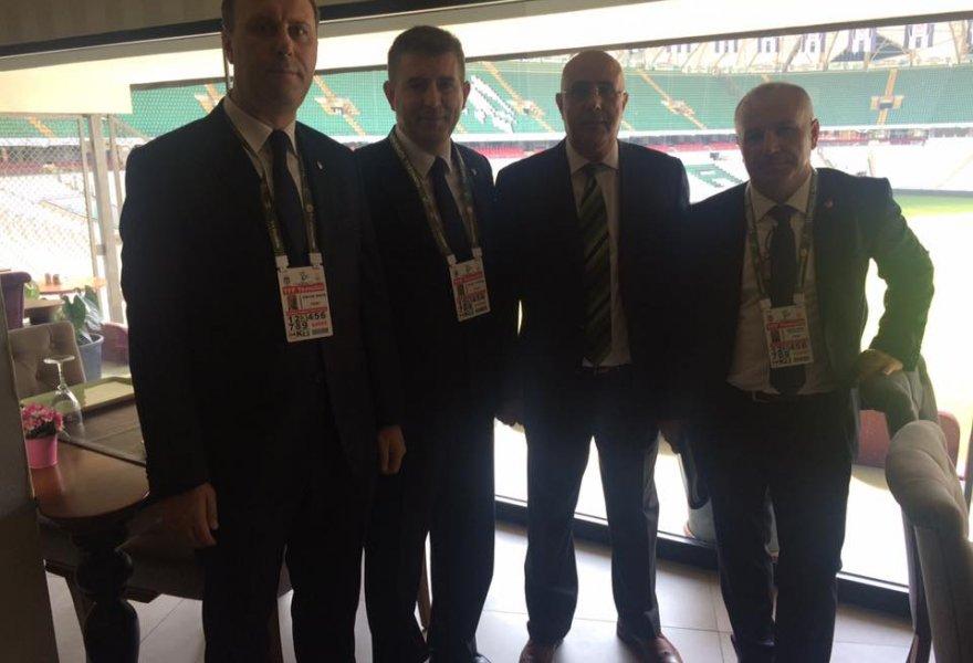 Ahmet Eser kupa maçının eşgüdüm toplantısında