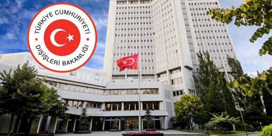 Dışişleri Bakanlığı Viyana'daki Skandalı Şiddetle Kınadı