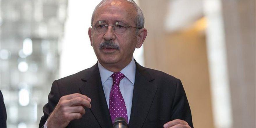 Kemal Kılıçdaroğlu, Dışişleri Bakanı Mevlüt Çavuşoğlu İle Görüşecek