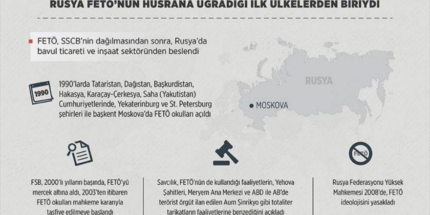 Rusya Fetö'nün Hüsrana Uğradığı İlk Ülkelerden Biriydi