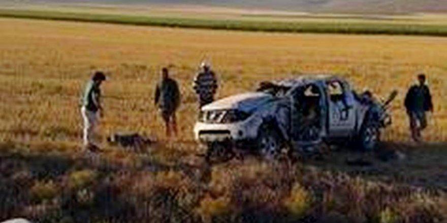 Konya'da  kamyonet takla attı: 3 ölü, 1 yaralı