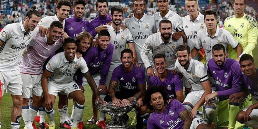 Real Madrid'den Gövde Gösterisi