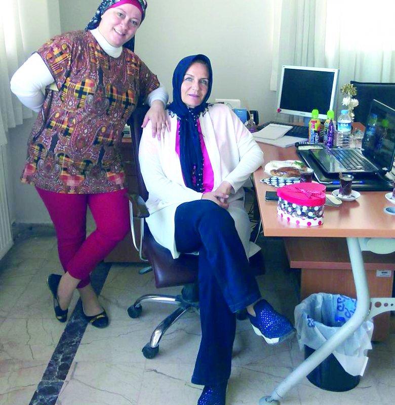 Nur Erdem Hanım'ın tatil anı