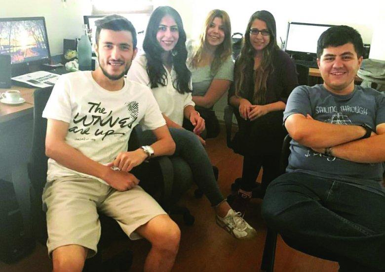 PUSULA'nın genç ekibi bir arada