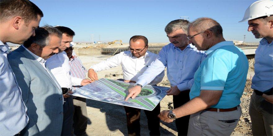 Konya-Aksaray yoluna köprülü kavşak