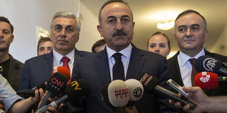 Dışişleri Bakanı Çavuşoğlu: Rusya'nın Katkısı Olmadan Suriye'de Kalıcı Bir Çözüm Olmaz
