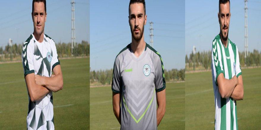 İşte Atiker Konyaspor'un yeni sezon formaları