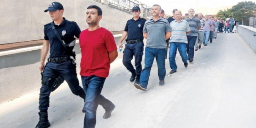 15 Temmuz sonrası kaç bin kişi tutuklandı?