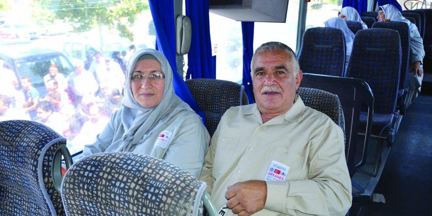 Elmas Mustafa Çimen çifti mübarek yolda