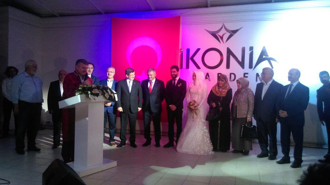 Başbakan Binali Yıldırım Konya'da nikah şahidi oldu