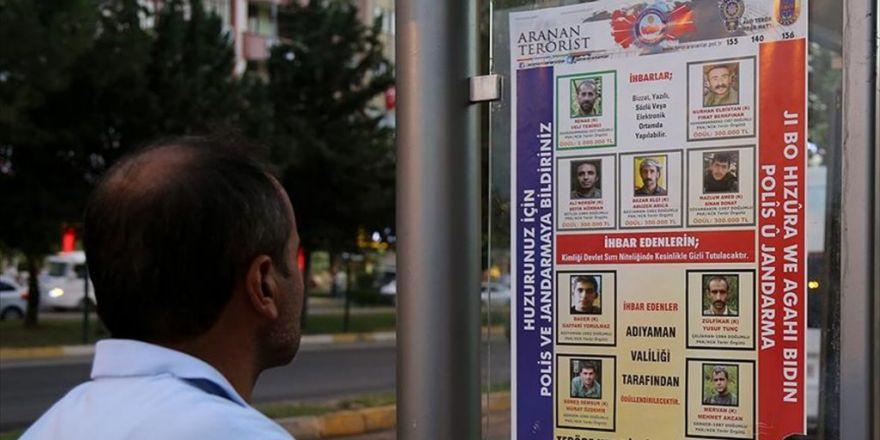 Aranan Teröristler Listesine 4 Kişi Daha Eklendi