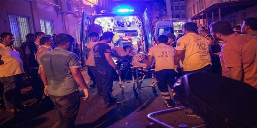 Gaziantep'te hayatını kaybedenlerin sayısı 50'ye yükseldi