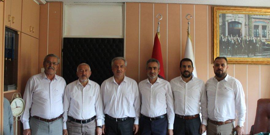 KOMÜT' den Ercan Uslu'ya ziyaret