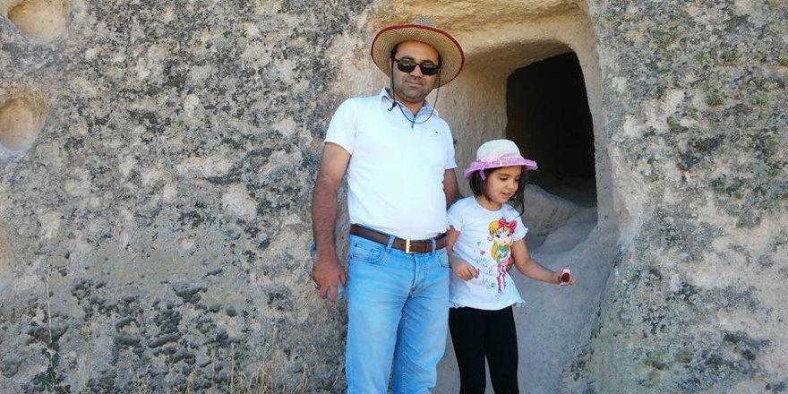 Adnan Teke aile fertleri ile Üçhisar Kalesinde