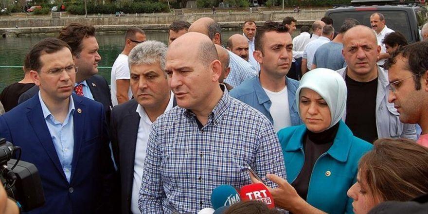 Çalışma Ve Sosyal Güvenlik Bakanı Soylu: 15 Temmuz İle Bu Saldırıları Tertip Eden Odak Aynı Odaktır