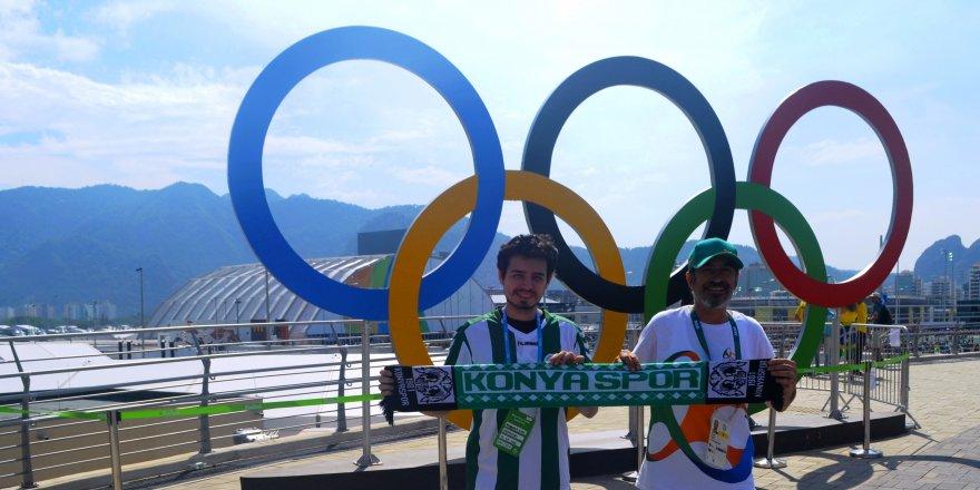 Olimpiyatlar'da Konyaspor sevgisi