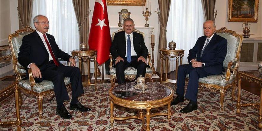 Başbakanlık Konutu'nda Liderler Zirvesi