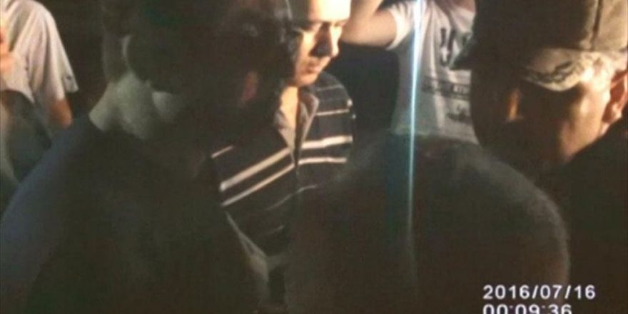 Darbeci Yarbayın 'Vatandaşı Tehdidi' Kamerada