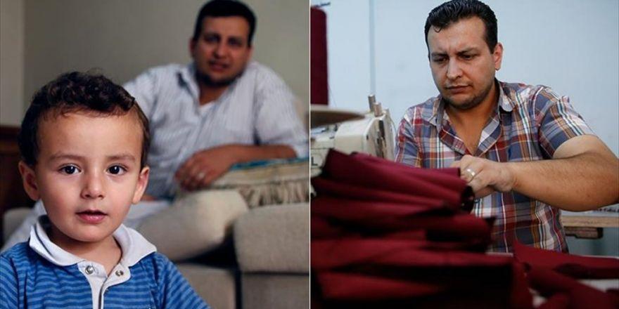 Suriyeli Kalp Cerrahı, Otistik Çocuğu İçin Terzilik Yapıyor