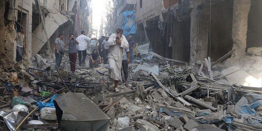 Halep'te Hava Saldırısı: 14 Ölü