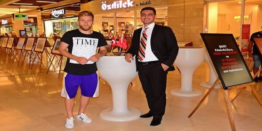 Konyasporlu Halil İbrahim Sönmez, fotoğraf sergisinde