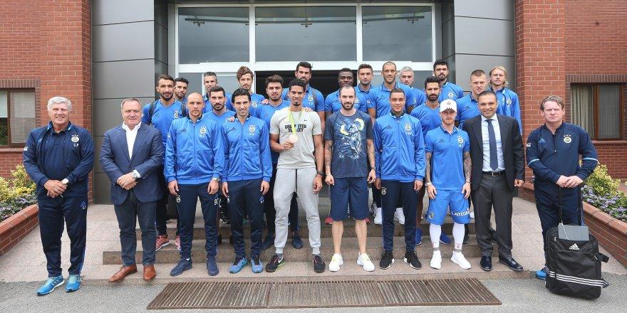 Rio kahramanlarından Fenerbahçe'ye ziyaret